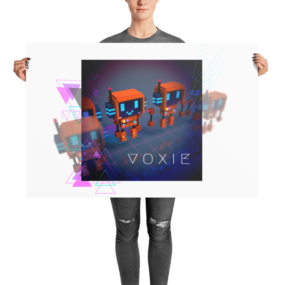 FY - Cyberpunk Voxie - *Photo paper poster*