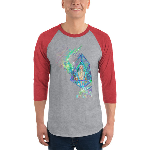 Image of AV - EOS Torch Bearer - *Men's 3/4 sleeve Shirt*