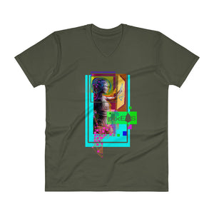 AV - Pixsheos Power - *Unisex V-Neck T-Shirt*
