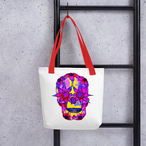 OP - Pink Skully - *Tote bag*