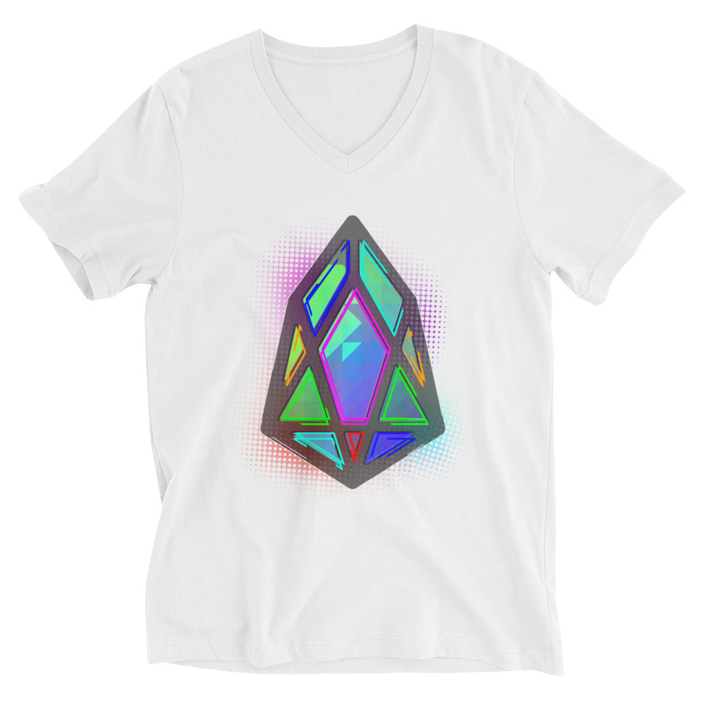 FY - pixEOS Hub - *Women's V-Neck T-Shirt*