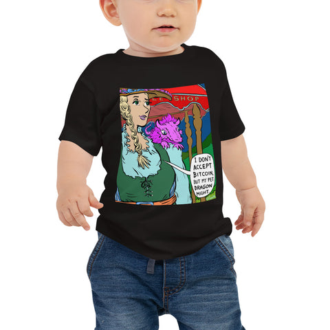 Image of JC - Ye Olde Bitcoin Shoppe - *Baby Tee*