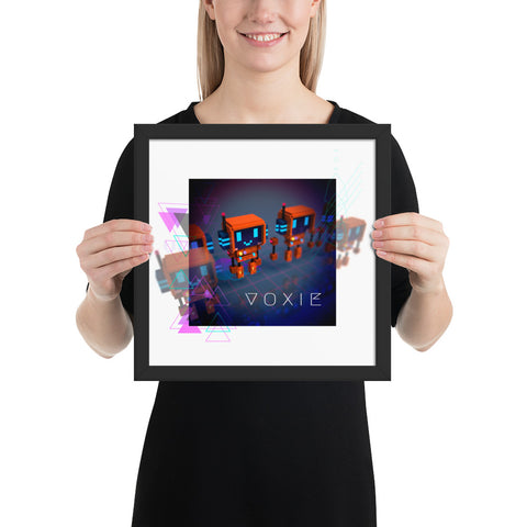 Image of FY - Cyberpunk Voxie - *Framed photo paper poster*