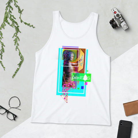 AV - Pixsheos Power - *Unisex  Tank Top*