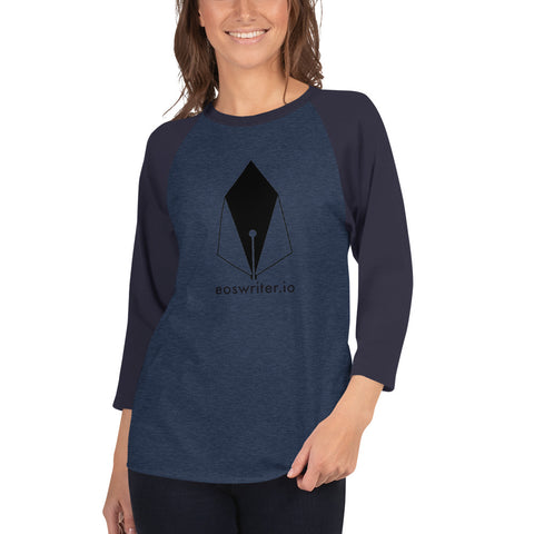 SB - Eoswriter - *Women's 3/4 sleeve Shirt*