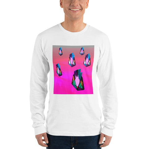 Image of FY - Pixeos Voxel - *Men's Long sleeve t-shirt*