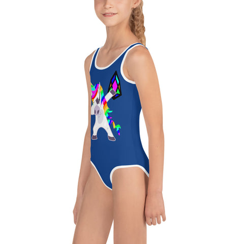 YM - Dabing Unicorn - *Kids Swimsuit*
