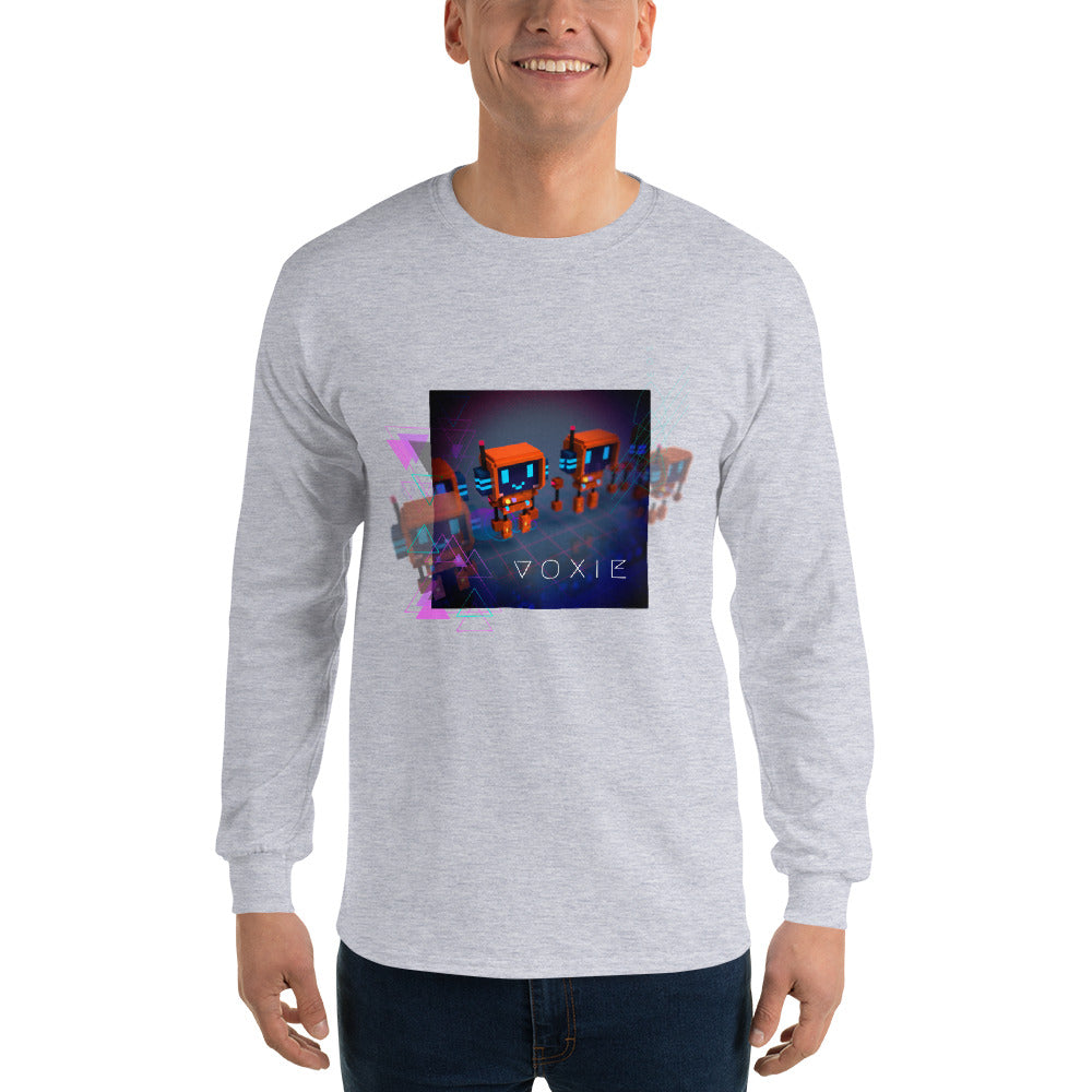 FY - Cyberpunk Voxie - *Men's Long Sleeve T-Shirt*
