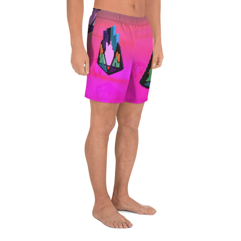 Image of FY - Pixeos Voxel - *Men's Athletic Long Shorts*