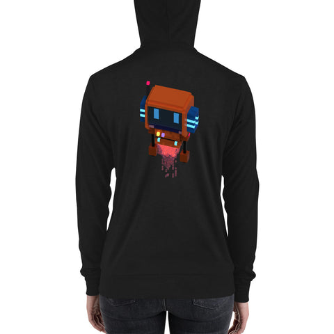 Image of FY - Voxie Rocket - *Women's Zip Hoodie*