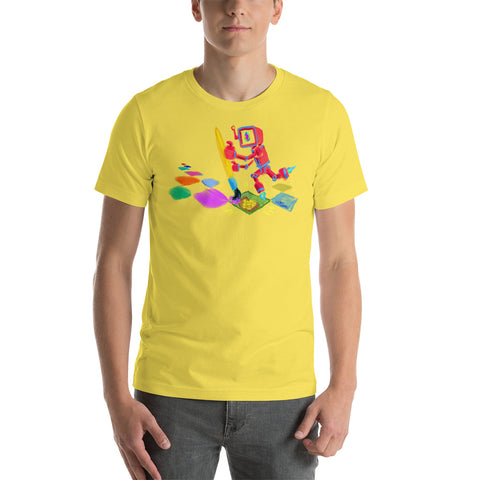 "JC - ""Lucky Pixel Painter/Joe Chiappetta""  - *Men's/Women's/Unisex T-Shirt*"