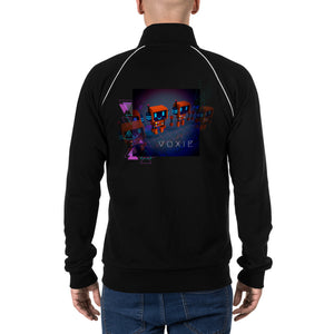 FY - Cyberpunk Voxie - *Men's Piped Fleece Jacket*
