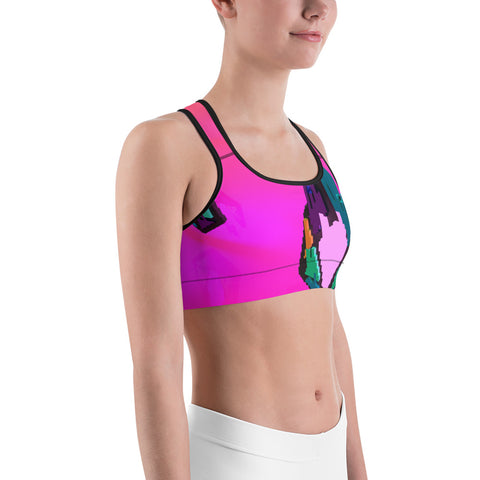 Image of FY - Pixeos Voxel - *Women's Sports bra*