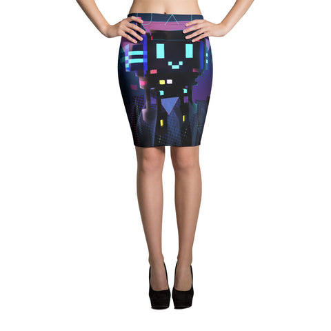 Image of FY - Cyberpunk Voxie 2 - *Women's Pencil Skirt*