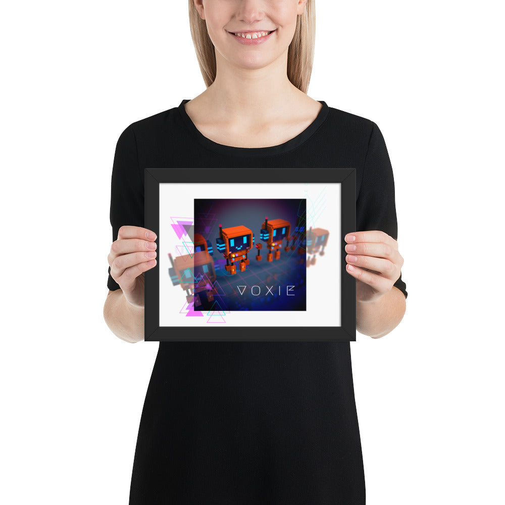 FY - Cyberpunk Voxie - *Framed photo paper poster*