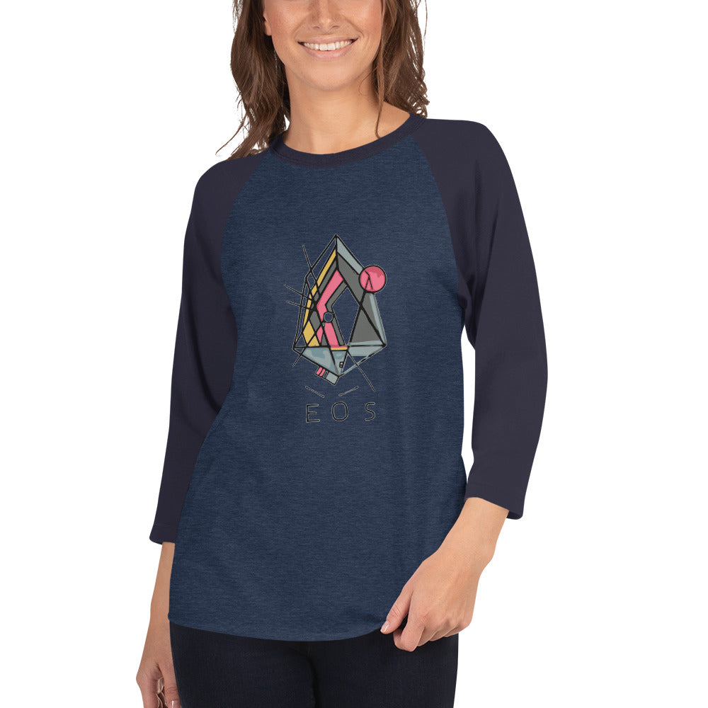 RB - Kandinsky - *Women's 3/4 Sleeve Shirt*