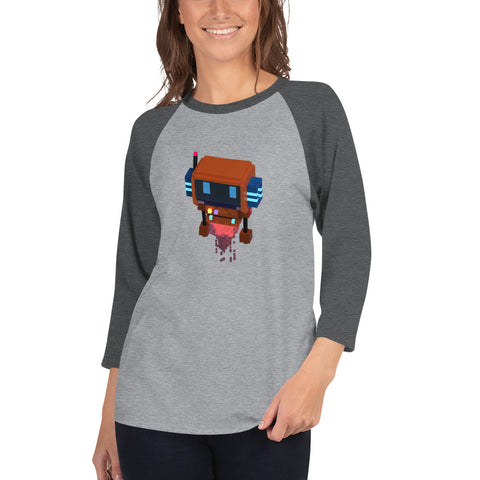 Image of FY - Voxie Rocket - *Women's 3/4 sleeve Shirt*