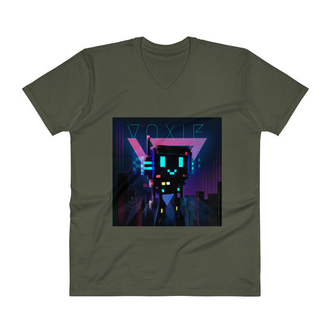 Image of FY - Voxie Cyberpunk 2 - *Men's V-Neck T-Shirt*