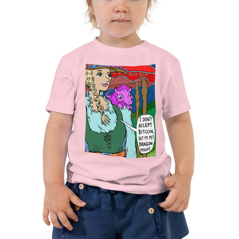 Image of JC - Ye Olde Bitcoin Shoppe - *Toddler Tee*