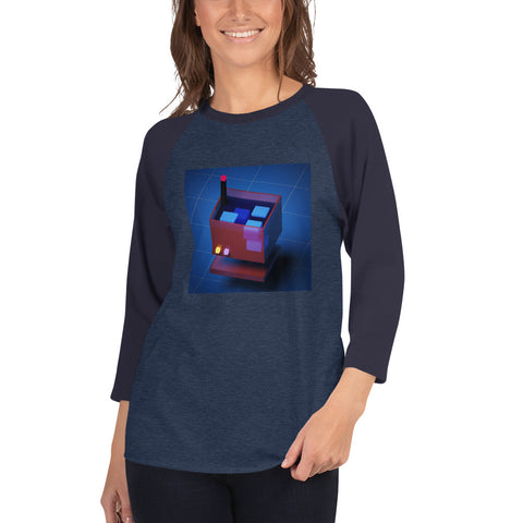 Image of FY - Voxie Drink - *Women's 3/4 Sleeve Shirt*