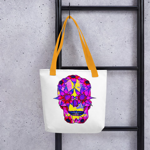 Image of OP - Pink Skully - *Tote bag*