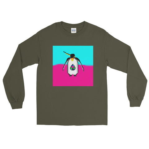 JN - Penguin - *Long Sleeve T-Shirt*