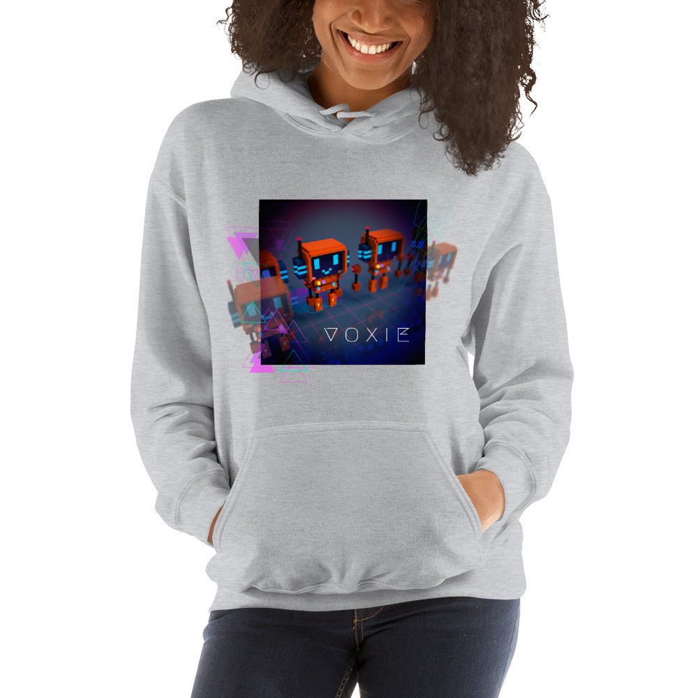 FY - Cyberpunk Voxie - *Women's Hooded Sweatshirt*