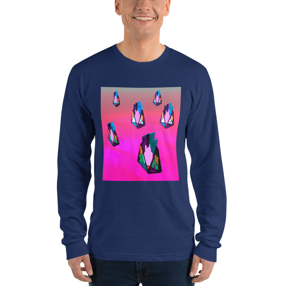FY - Pixeos Voxel - *Men's Long sleeve t-shirt*