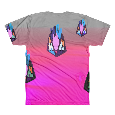Image of FY - Pixeos Voxel - *Men's All-Over Print Tee*