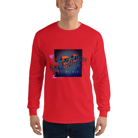 Image of FY - Cyberpunk Voxie - *Men's Long Sleeve T-Shirt*