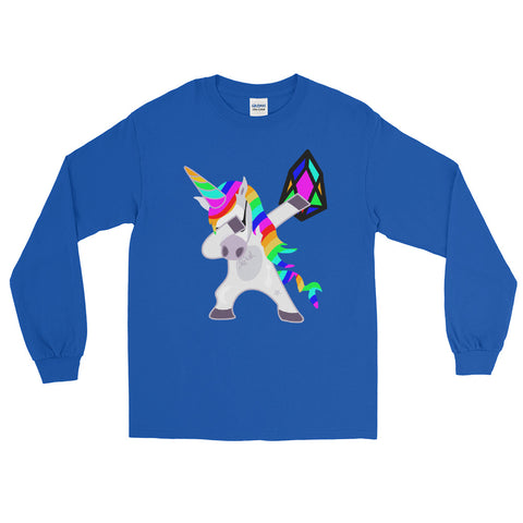 YM - Dabing Unicorn - *Unisex Long Sleeve T-Shirt*