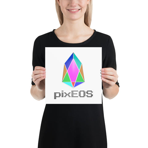 Image of PIX - pixEOS logo 3D 2 - *Photo Paper Poster*
