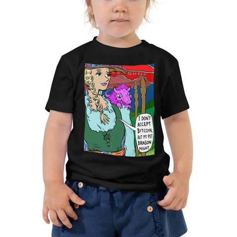 JC - Ye Olde Bitcoin Shoppe - *Toddler Tee*