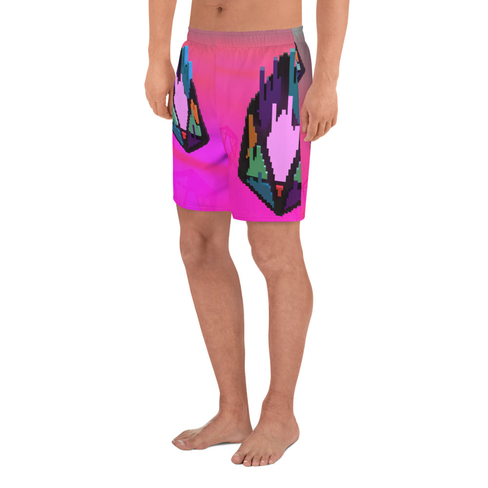 FY - Pixeos Voxel - *Men's Athletic Long Shorts*