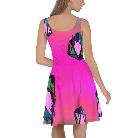 Image of FY - Pixeos Voxel - *Women's Skater Dress*