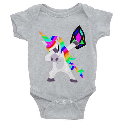 Image of YM - Dabing Unicorn - *Baby Bodysuit*