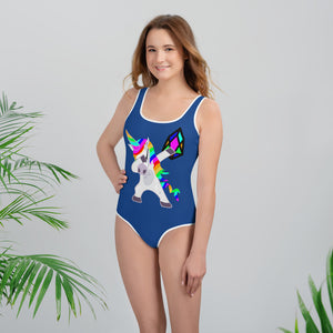 YM - Dabing Unicorn - *Youth Swimsuit*