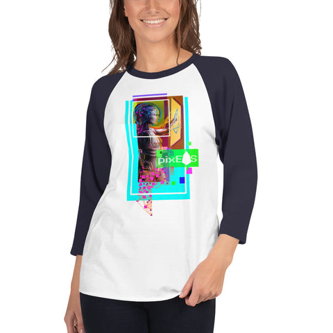 Image of AV - Pixsheos Power - *Women's 3/4 sleeve Shirt*