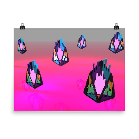 Image of FY - Pixeos Voxel - *Photo Paper Poster*