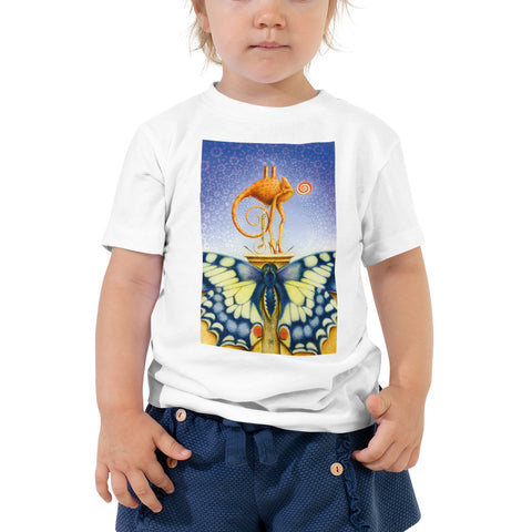 Image of RH - Chameleon Dame - *Toddler Tee*