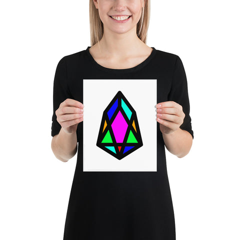 Image of PIX - pixEOS Logo Classic - *Matte Paper Poster*