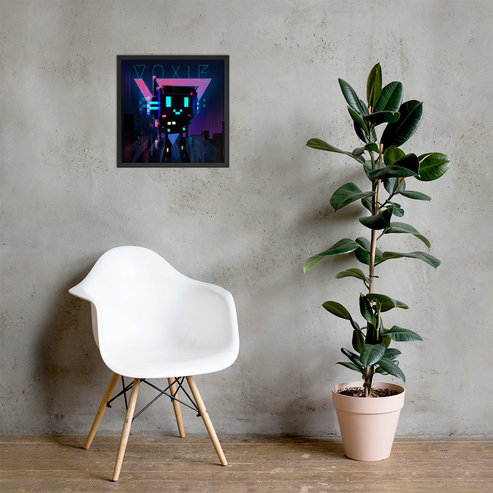 FY - Cyberpunk Voxie 2 - *Photo Paper Framed Poster*