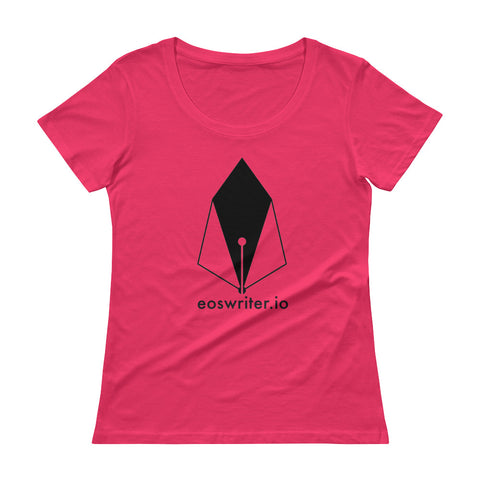 Image of SB - Eoswriter - *Women's Scoopneck T-Shirt*