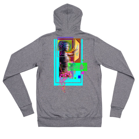 Image of AV - Pixsheos Power - *Unisex zip hoodie*