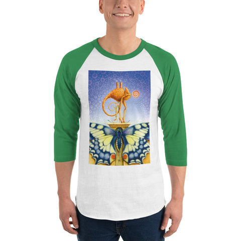 Image of RH - Chameleon Dame - *Men's 3/4 sleeve Shirt*