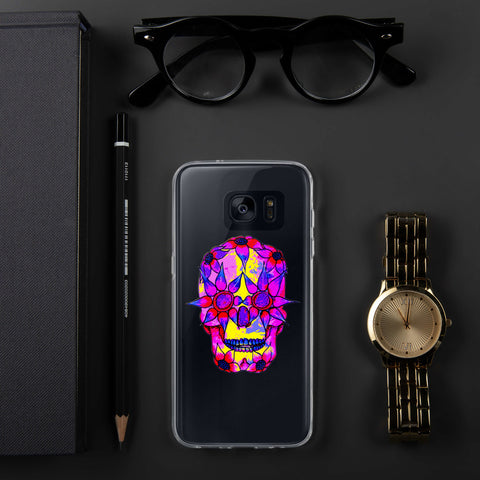 OP - Pink Skully - *Samsung Case*