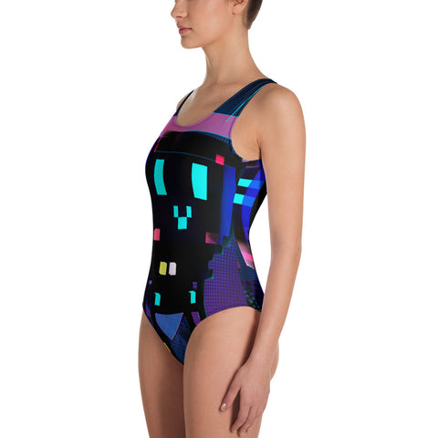 Image of FY - Cyberpunk Voxie 2 - *Women's One-Piece Swimsuit*