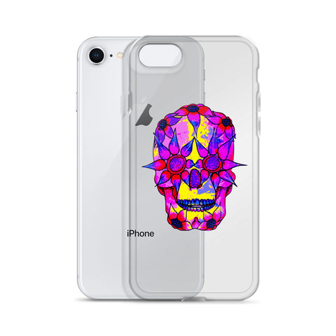 Image of OP - Pink Skully - *iPhone Case*
