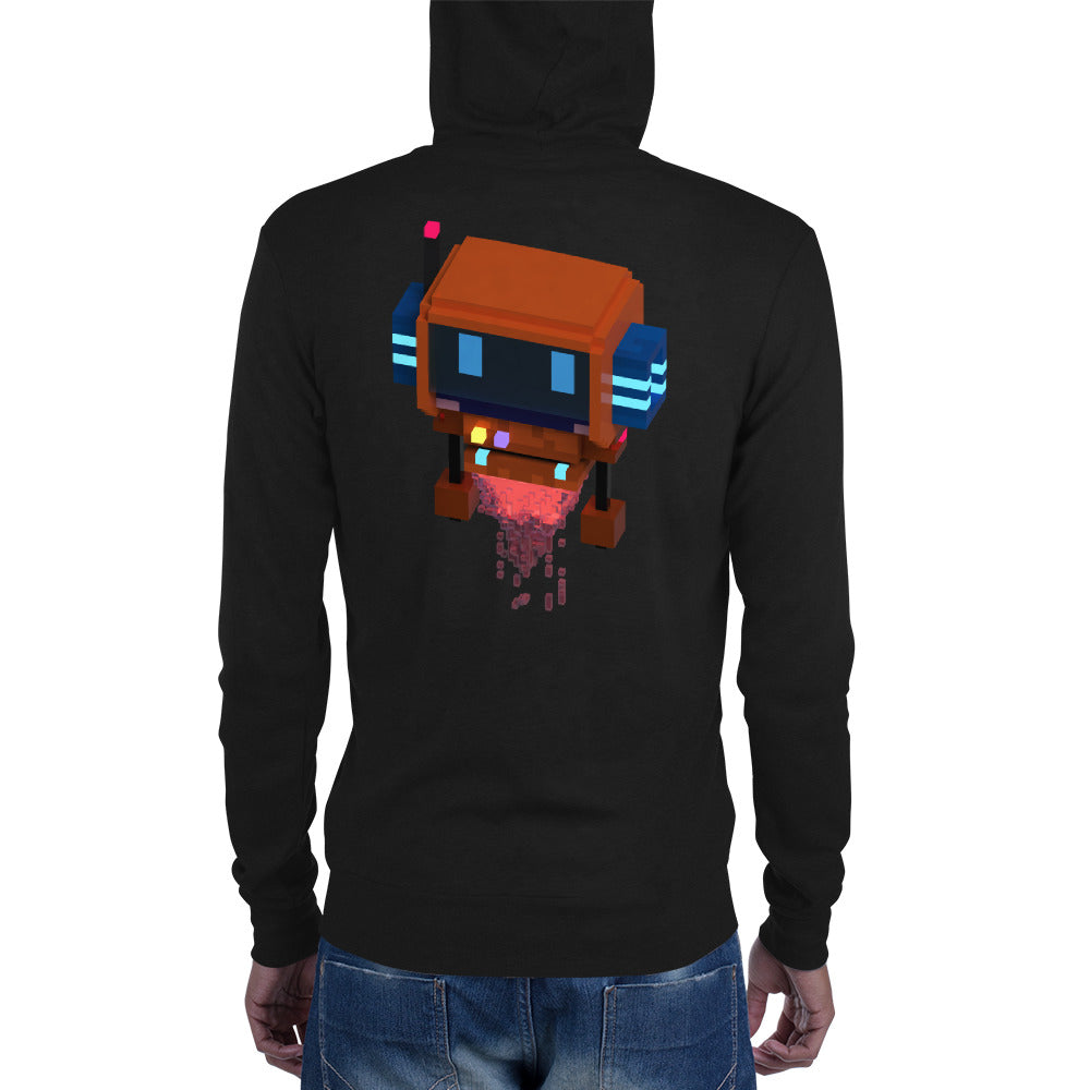 FY - Voxie Rocket - *Men's Zip Hoodie*