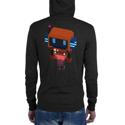 Image of FY - Voxie Rocket - *Men's Zip Hoodie*
